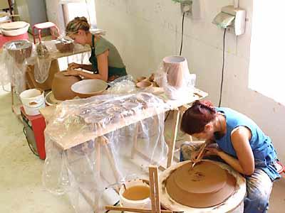 Ecole de la Céramique de Provence. Cérdit photo : Ville d'Aubagne