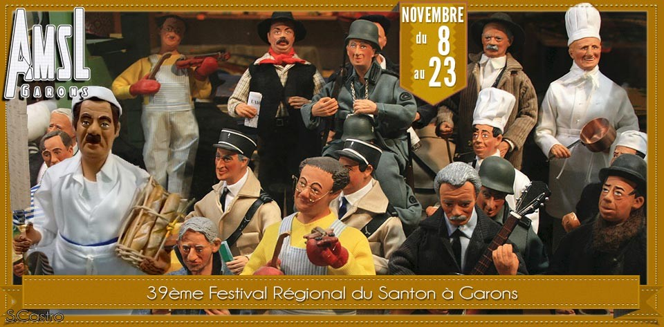 Du 8 au 23 novembre 2014 festival du santon garons 30 for Plan de garons