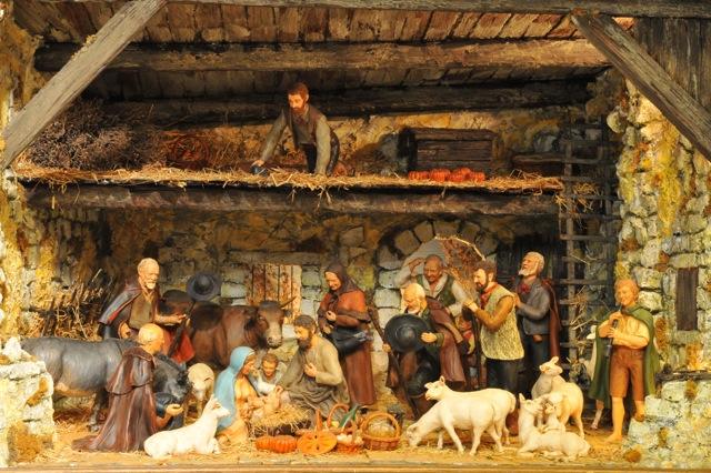 Exposition Daniel Scaturro, Maître santonnier et meilleur ouvrier de France - L'adoration des bergers