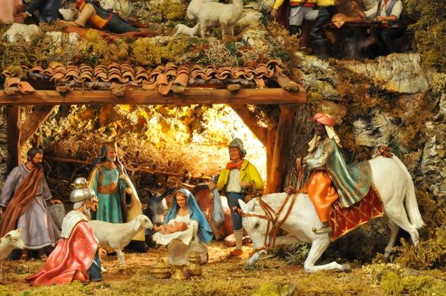 Exposition Daniel Scaturro, Maître santonnier et meilleur ouvrier de France - L'adoration des Rois Mages