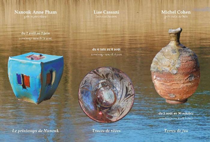3 expositions, 21 céramistes d'aujourd'hui La Mostra de l'Estela - Moustiers Sainte-Marie (Alpes de Haute Provence)