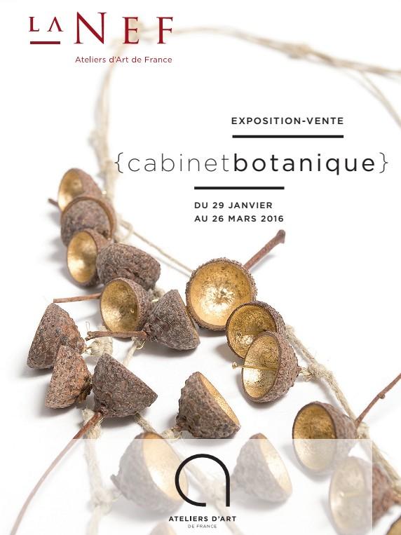 Exposition Cabinet Botanique, La Nef de Montpellier - AAF - Marine Cauvin, photo © Christine Réfalo