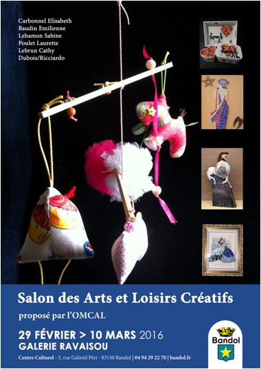 Exposition Bandol (Var) Galerie Ravaisou - céramique Emilienne Baudin - du 29 février au 10 mars 2016