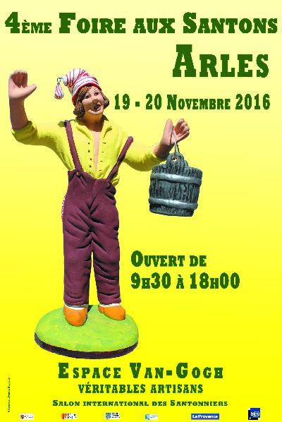 Foire aux santons en Arles (Bouches du Rhône) les 19 et 20 novembre 2016