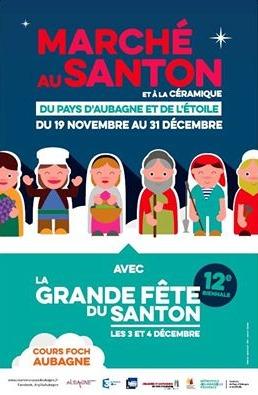Foire aux santons et à la céramique d'Ubagne (13) du 19 novembre au 31 décembre 2016