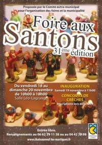 Foire aux santons de Châteauneuf les Martigues (13) du 18 au 20 novembre 2016