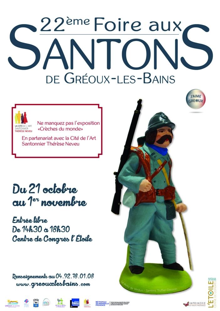 Foire aux santons 2016 Gréoux les Bains - Alpes de Haute Provence