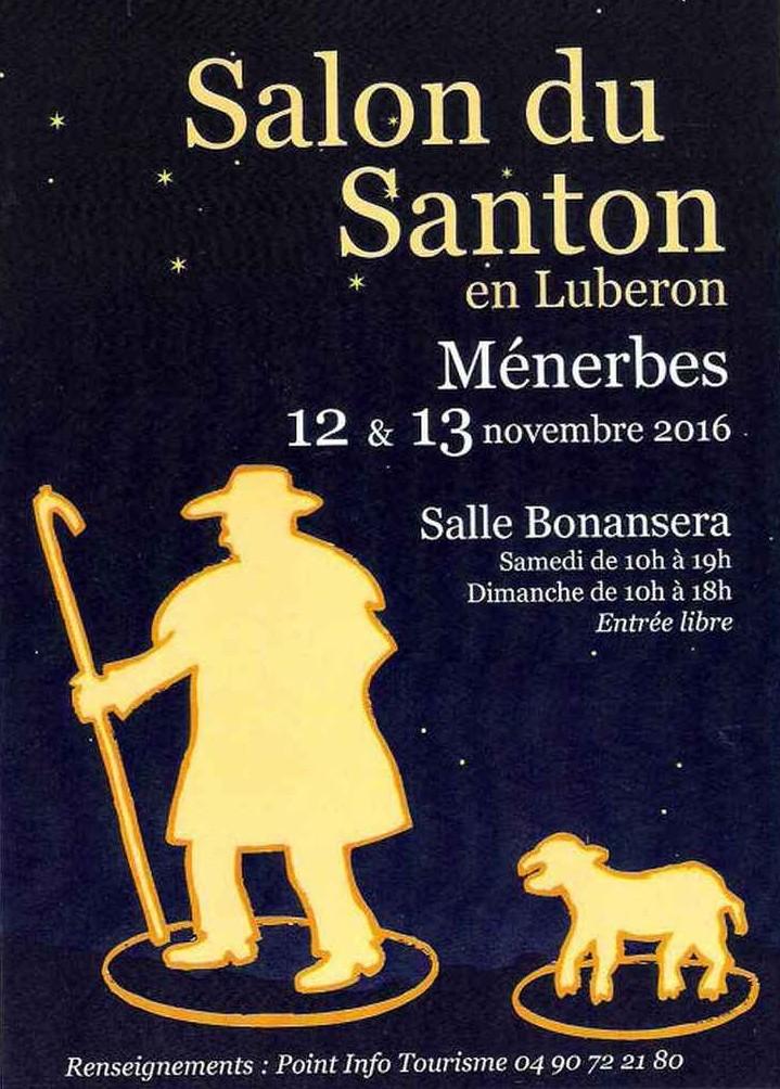 Foires aux santons en Lubéron, Ménerbes les 12 et 13 novembre 2016