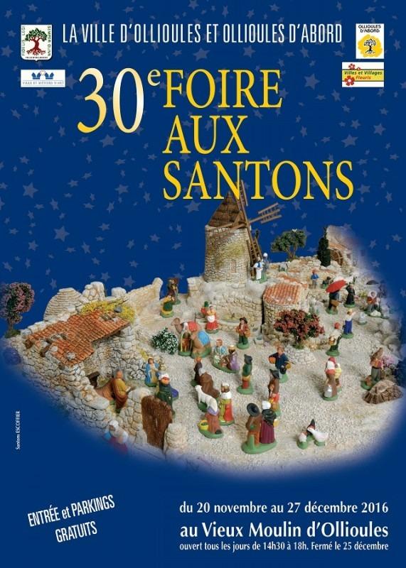 Foire aux santons d 39 ollioules var du 20 novembre au 27 for Foire de moulins 2017