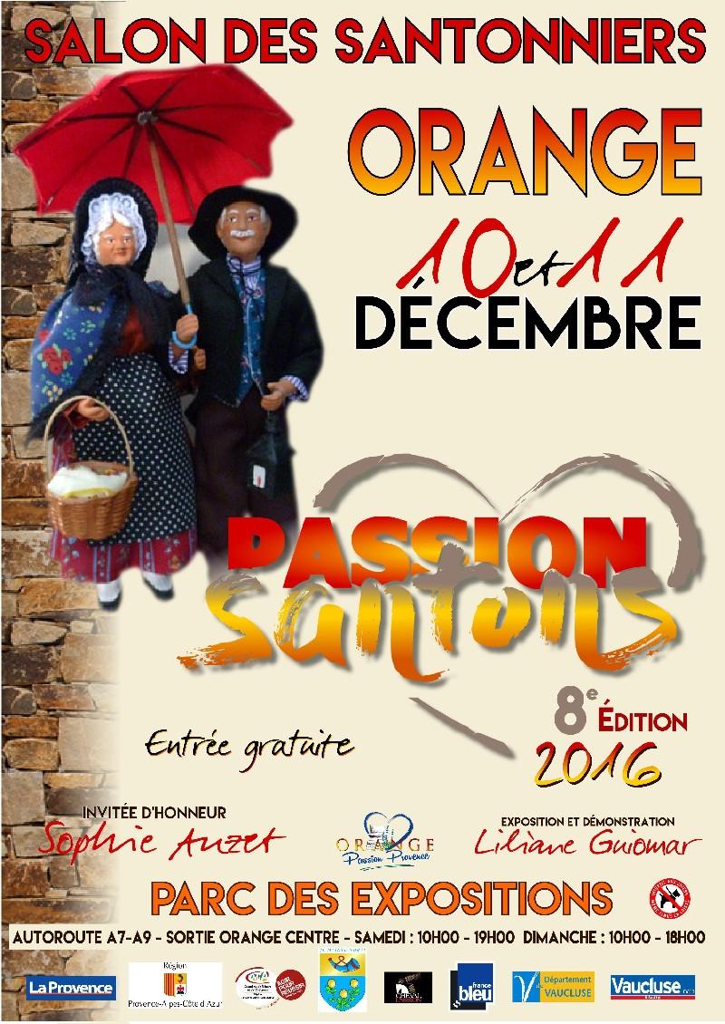 Salon des santonniers à Orange (Vaucluse) les 10 et 11 décembre 2016