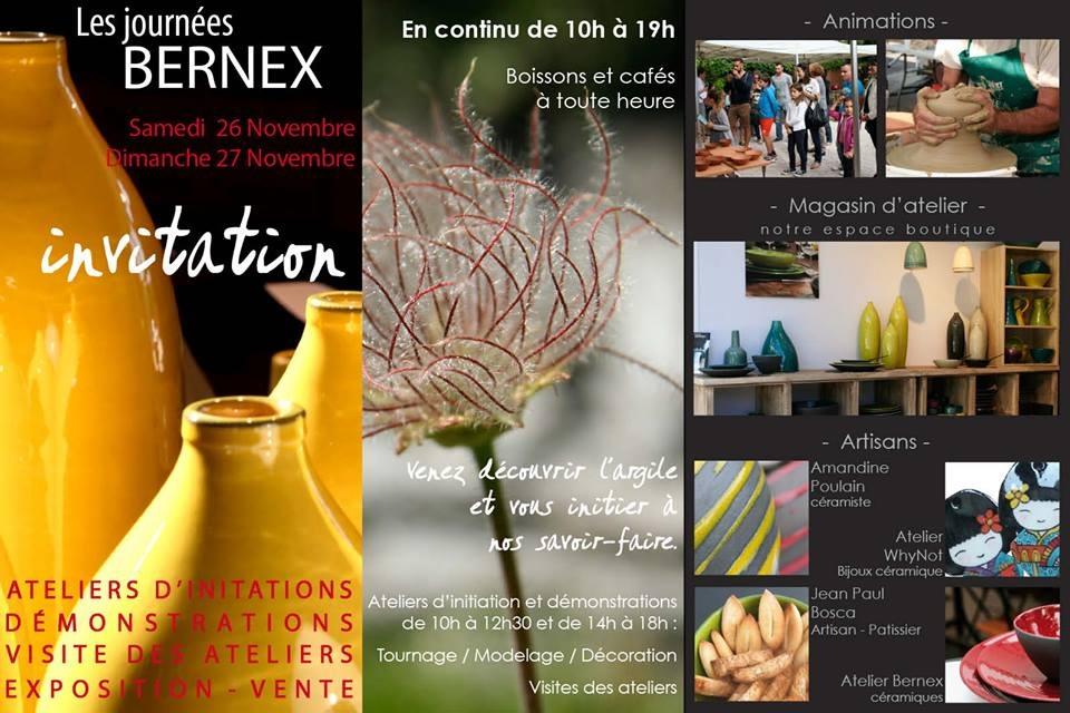 Les journées Bernex à Aubagne, 26 et 27 novembre 2016 - Céramique et Santon de Provence