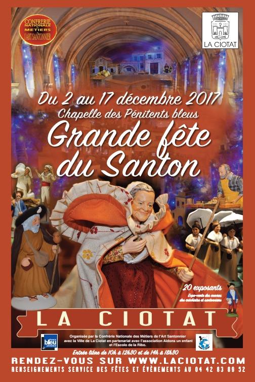 Foire aux santons de La Ciotat (Bouches du Rhône) du 2 au 17 décembre 2017 - crèches et santons de Noël