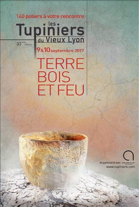 Marché potier Les Tupiniers à Lyon (Rhône) les 9 et 10 septembre 2017 - céramique et poterie