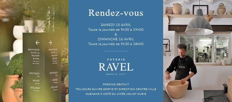 Les Journées Ravel à Aubagne les 15 et 16 avril 2017 - Portes ouvertes de l'atelier de poterie