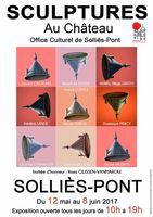 Sculptures au château de Solliès-Pont (Var), jusqu'au 8 juin 2017
