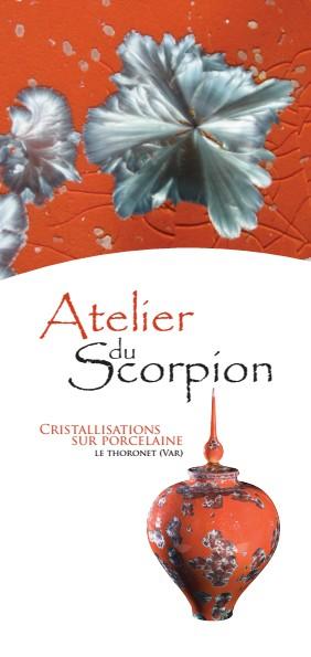 JEMA 2018 METIERS D'ARTS - Découvrez les céramiques de la Poterie du Scorpion (Var) du 6 au 8 avrill