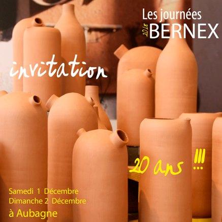 Les Journées Bernex les 1 et 2 décembre 18 à Aubagne (13) - Céramique culinaire design