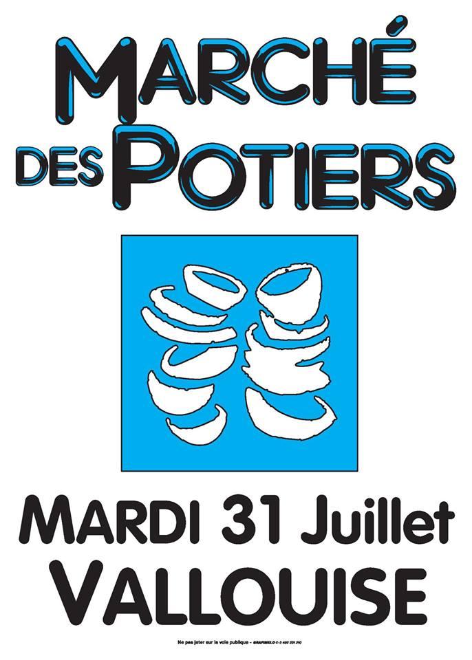 Marché potier de Vallouise (Haute Alpes) le 31 juillet 2018, céramique et poterie, exposition, artisanat