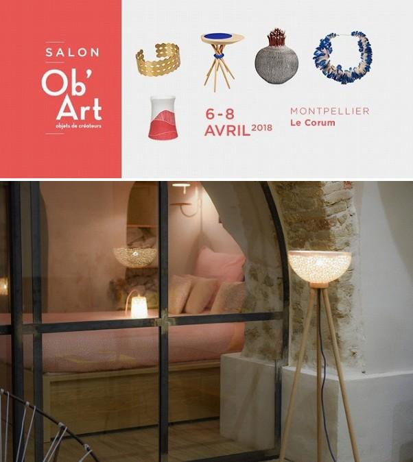 Découvrez les créations céramique de Muriel Lovo au salon Ob'Art de Montpellier du 6 au 8 avril 2018