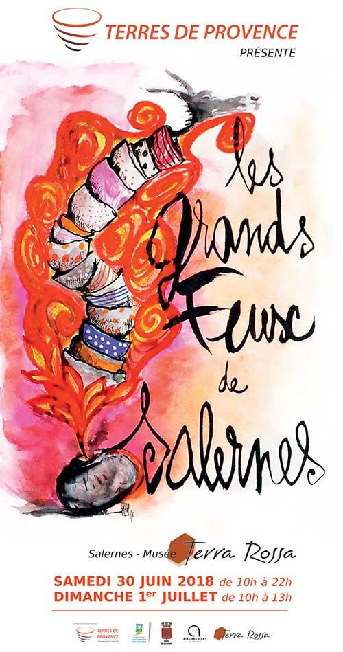 Les Grands Feux de Salernes - Fête de la céramique à Salernes (Var) les 30 juin et 1er juillet 2018