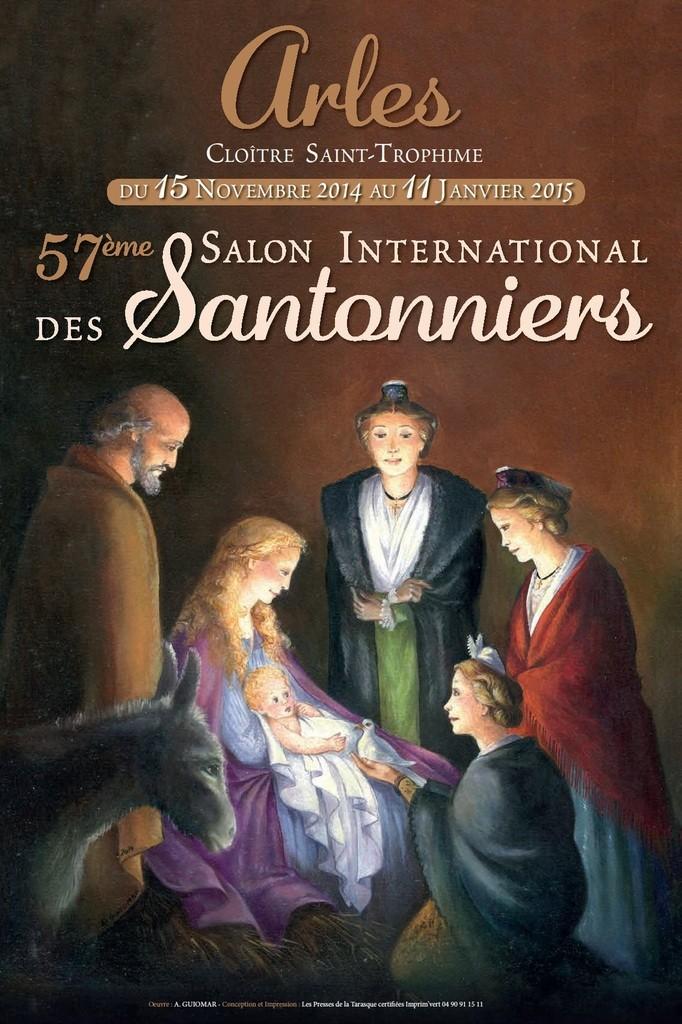 Salon des santonniers en Arles 2014 - foire aux santons