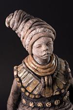 Sculpture céramique - Atelier du Moulin de l'Herm - Joceline Saez Simbola création