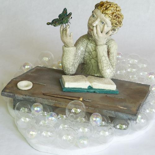 Françoise Barre Céramique objets de décoration raku 13780 Cuges les Pins