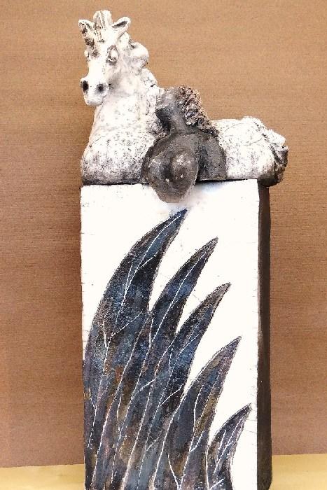 sculpture céramique Emilienne Baudin