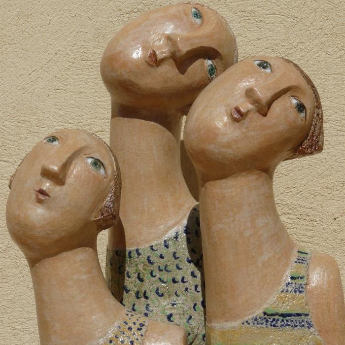 Elle Blasi, Ellen sculpture céramique - Aubagne en Provence