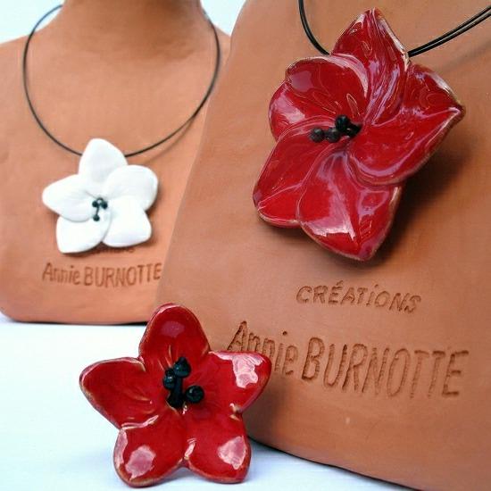 Annie Burnotte Art-Terra, Arts de la table, bijoux et objets de décoration - 13400 Aubagne