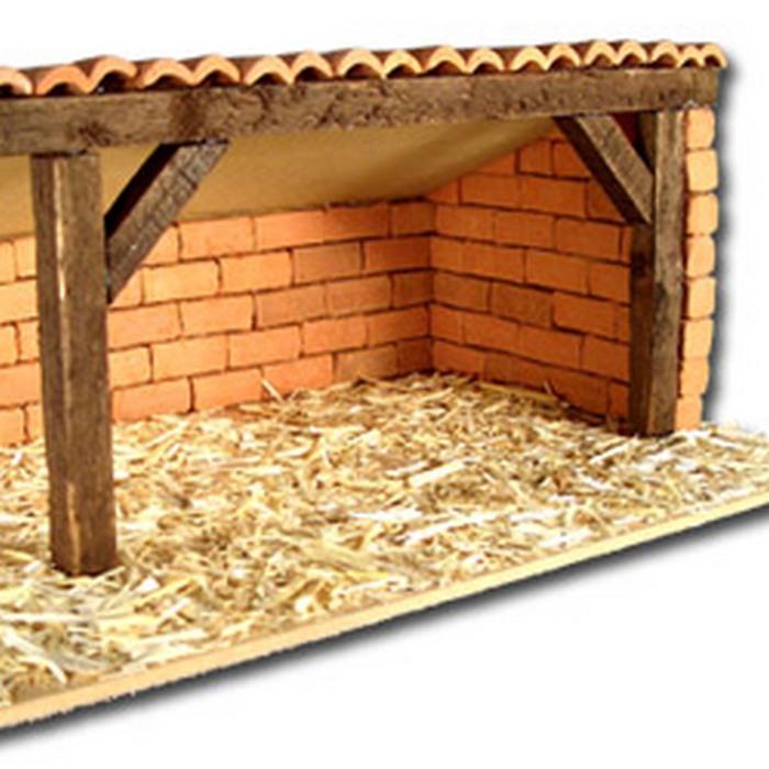 Le santons cratif, éléments de construction pour la création de crèches : tuiles, briques...   13400 Aubagne