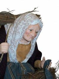 Santons Campana à Aubagne (13), santons habillés, santons d'argile et crèches