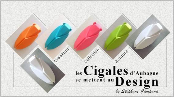 Cigales d'Aubagne by Stéphane Campana - Design et céramique