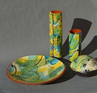 Laurence Barthelet  Rolland Gioan,  Art de la table et objets de décoration, Poterie Faïence - 06800 Cagnes sur Mer