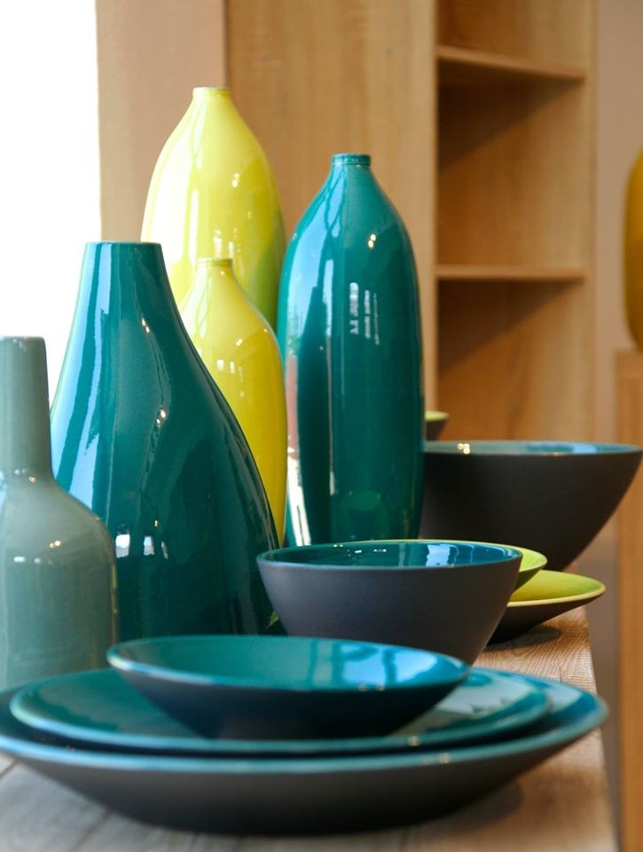 poterie design, céramique Romain Bernex - Aubagne en Provence