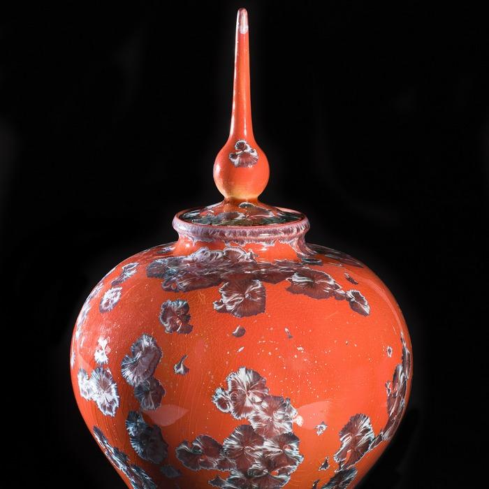 Céramique et cristallisation - Atelier du Scorpion, Le Thoronet - Var