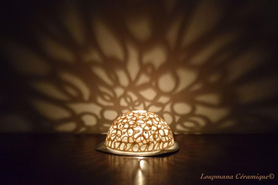 Atelier Loupmana céramique Muriel Lovo Porcelaine Objets de décoration Pièces uniques 06600 Antibes
