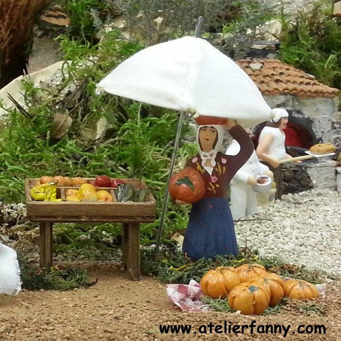 Les santons de l'Atelier de Fanny, à Aubagne | santons et accessoires de crèche
