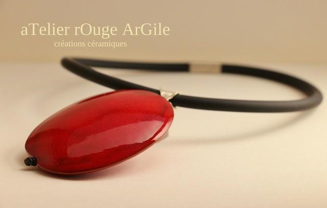 Fabienne Maille céramique,Atelier Rouge Argile Bijoux et objets de décoration 13002 Marseille