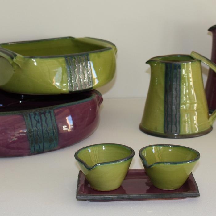 Atelier Bleu sable Gaétan Rodts, poterie Arts de la table et objets de décoration, Faïence - 83630 Aiguines