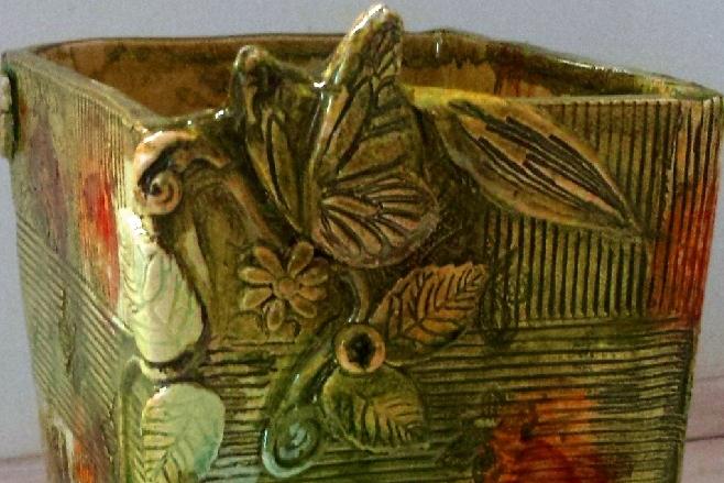 Atelier du Fourmilion, céramique Brigitte Roton - Objets de décoration et jardinières - 83200 Toulon