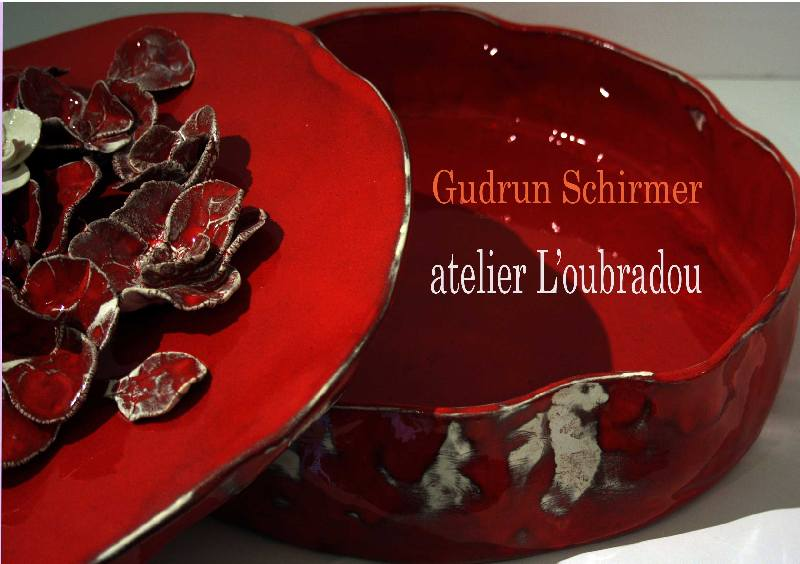 Gudrun Schirmer, céramique - Galerie HIC!ART! à Entrevennes (Alpes de Haute Provence