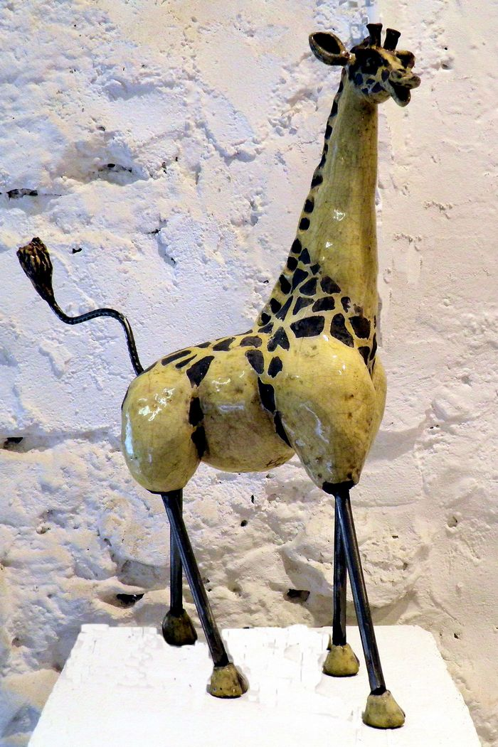 Poterie-isabel-de-gea-raku-ceramiques-girafe