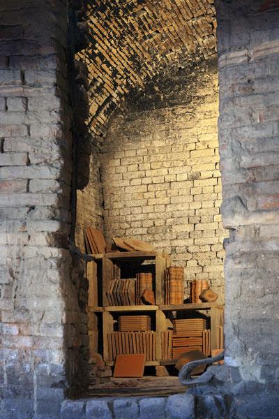 Ville de Salernes - Maison de la céramique architecturale - Four céramique